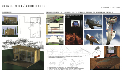Buildings, Design Development and Floorplans
